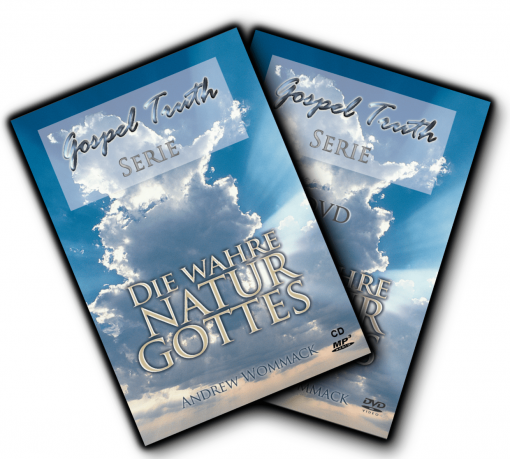 CD-DVD-Set - Die wahre Natur Gottes