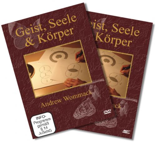 CD-DVD-Set - Geist, Seele & Körper